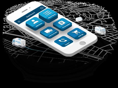 App für Lieferfahrer