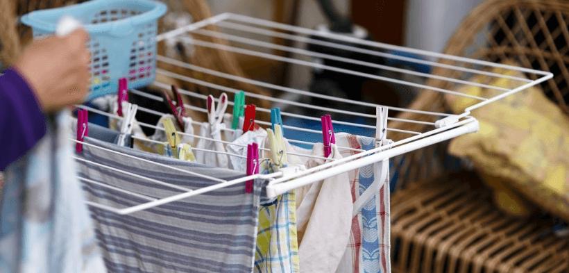 Wäsche in der Wohnung trocknen: Das solltest du beachten!