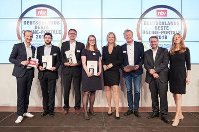 Jonny Fresh erhält Preis als eines der besten Online-Portale 2019 in Deutschland