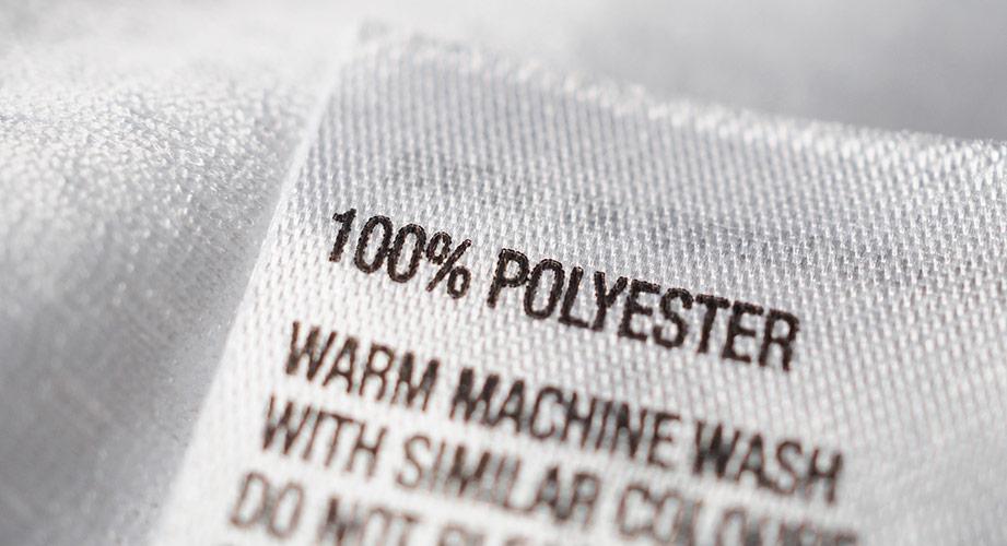Polyester Mikroplastik